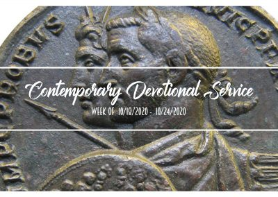 Contemporary Devotional Service Week of 10/18/2020