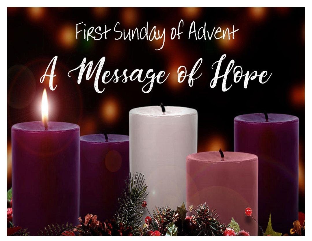 LARC – First Sunday of Advent